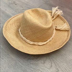 Vintage Adolfo cowboy hat /Sun Hat
